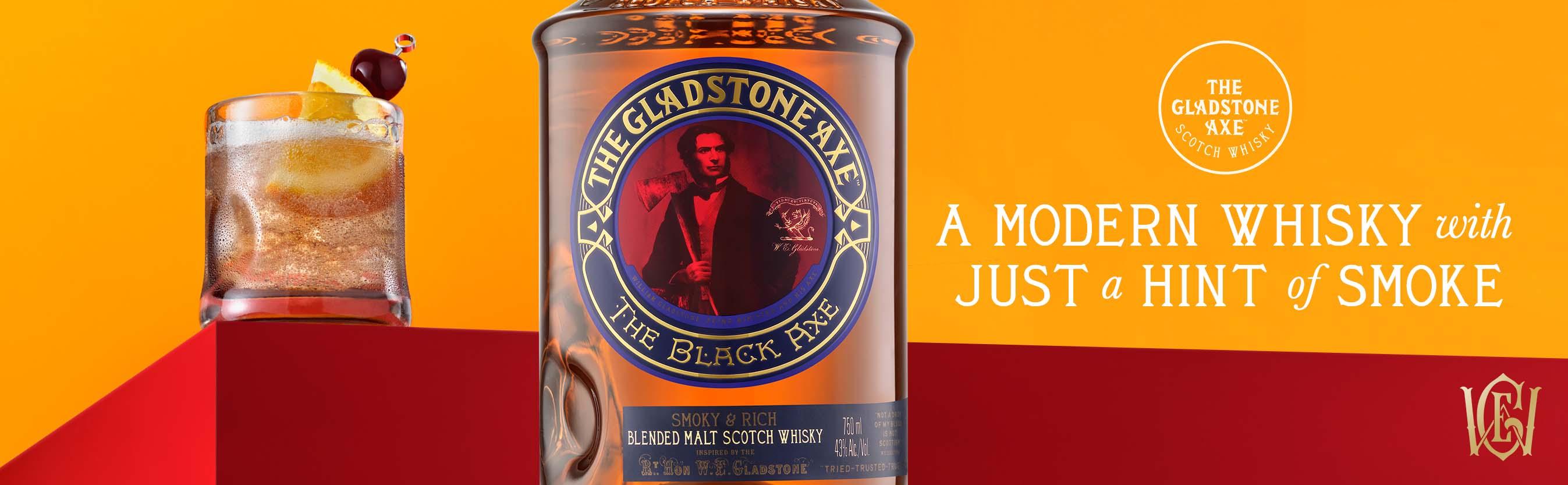 Gladstone Axe The Black Axe Blended Malt Whisky