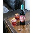 Léonce Rouge Vermouth - 16% Vol Alkohol - französischer Wermut, hergestellt aus hochwertigen Maury Rotweinen 1x 0,75l Flasche