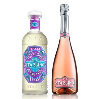 Starlino Elderflower & Sparkling Moscato Set 2x0,75l