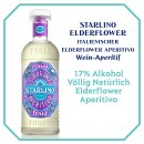 Starlino Elderflower & Sparkling Moscato Spritz Drink Set 2x0,75l plus Glas
