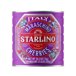 Starlino Maraschino Kirschen 1Kg Dose